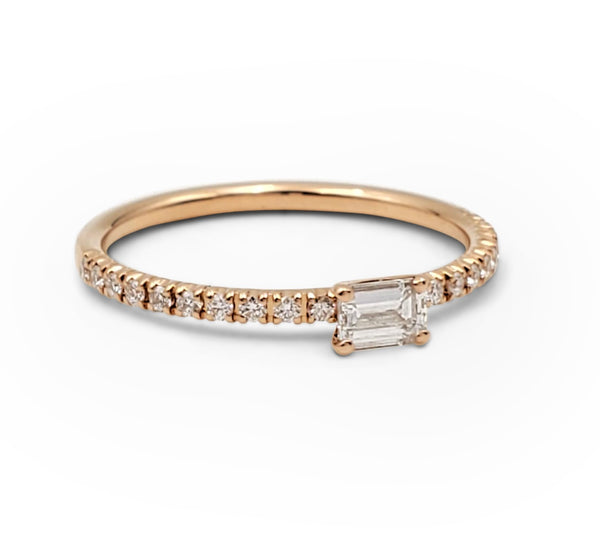 Cartier Étincelle de Cartier Rose Gold and Diamond Ring