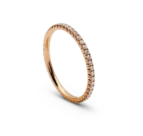 Cartier Étincelle de Cartier Rose Gold and Diamond Wedding Band