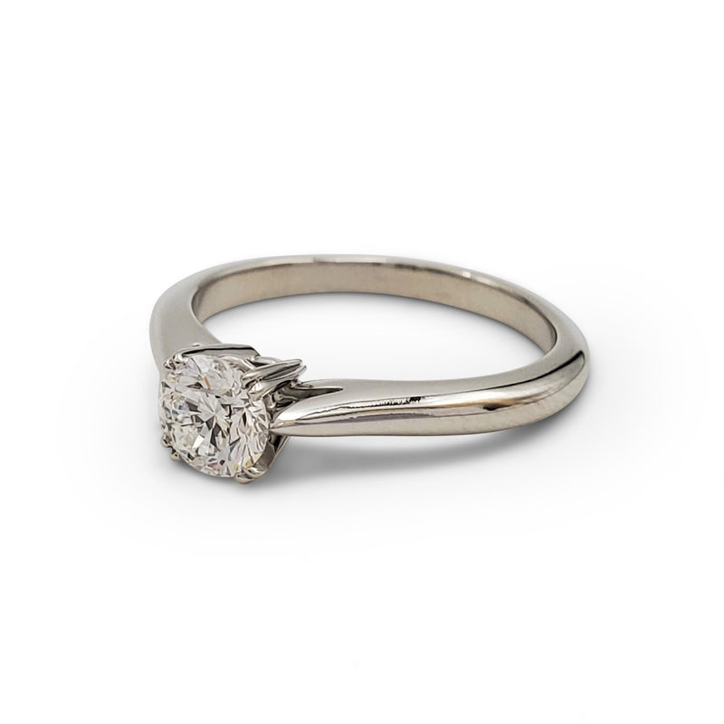 Harry Winston Platinum Solitaire 0.53ct Diamond Ring