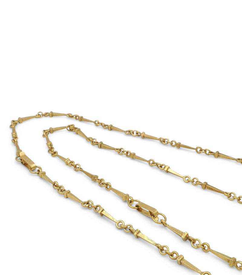 Salvador Dali Christo De San Juan De La Cruz Yellow Gold Convertible Necklace