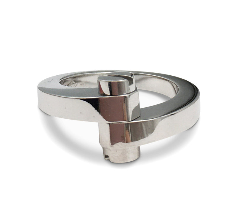 Cartier Menotte White Gold Ring