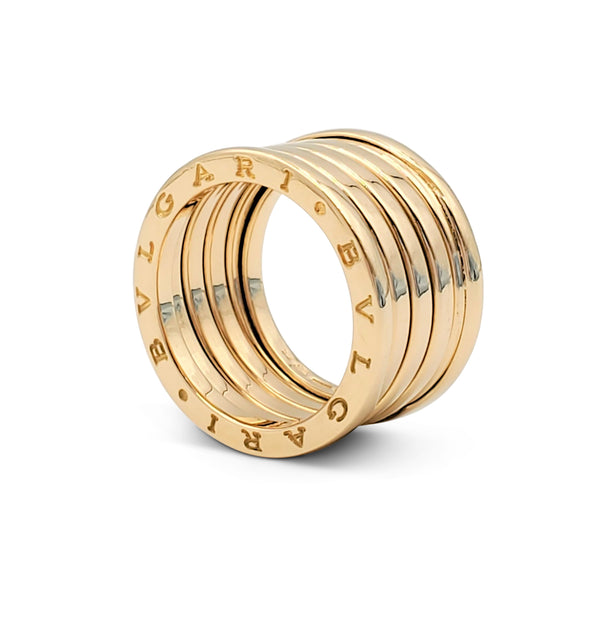 Bulgari B.zero1 Five-Band Yellow Gold Ring