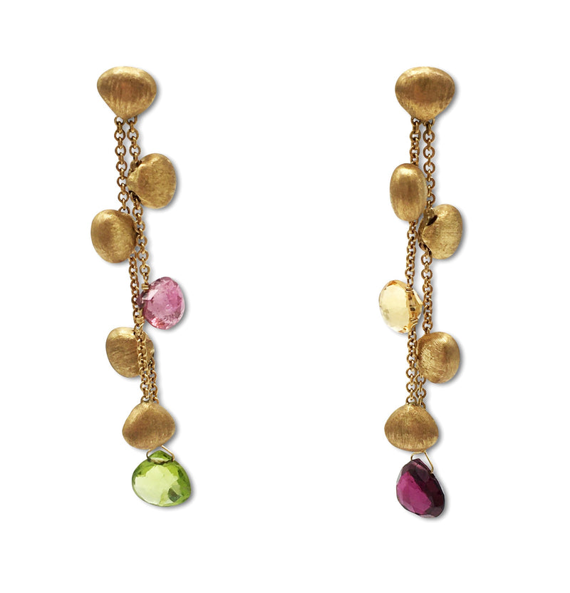 Marco Bicego Paradise Double Drop Earrings