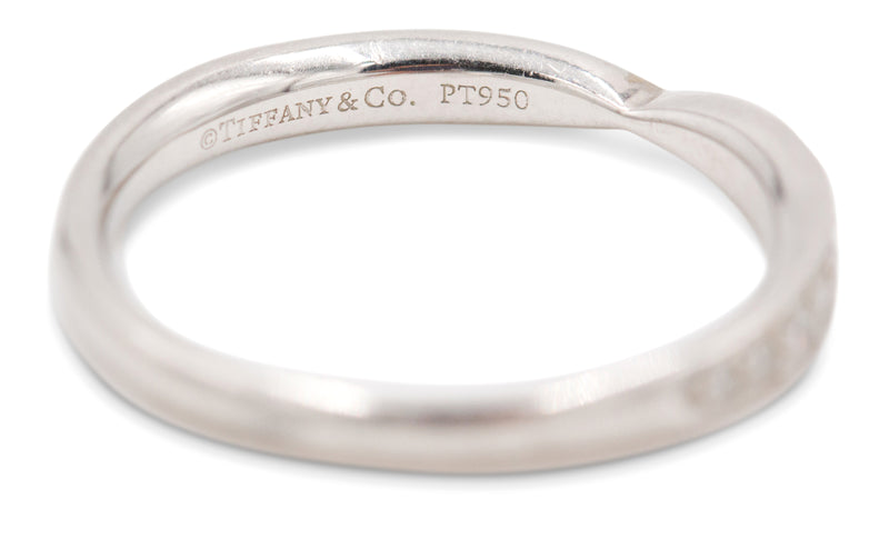 Tiffany & Co. Harmony Platinum Diamond Band