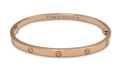 Cartier Love Rose Gold Bracelet, SM