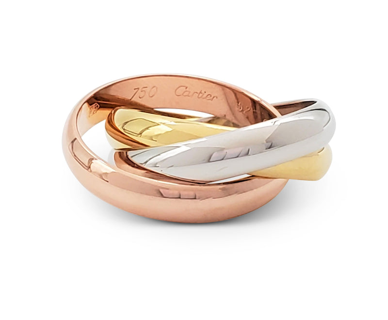 Cartier Trinity Tri-Color Gold Ring