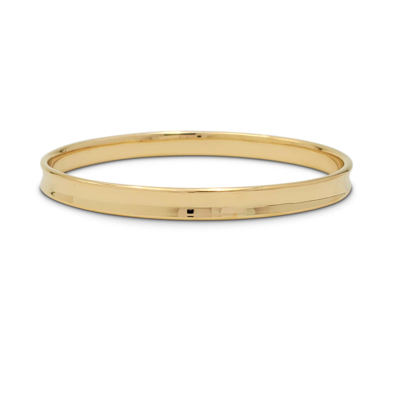 Vintage Tiffany & Co. '1837' Yellow Gold Bangle