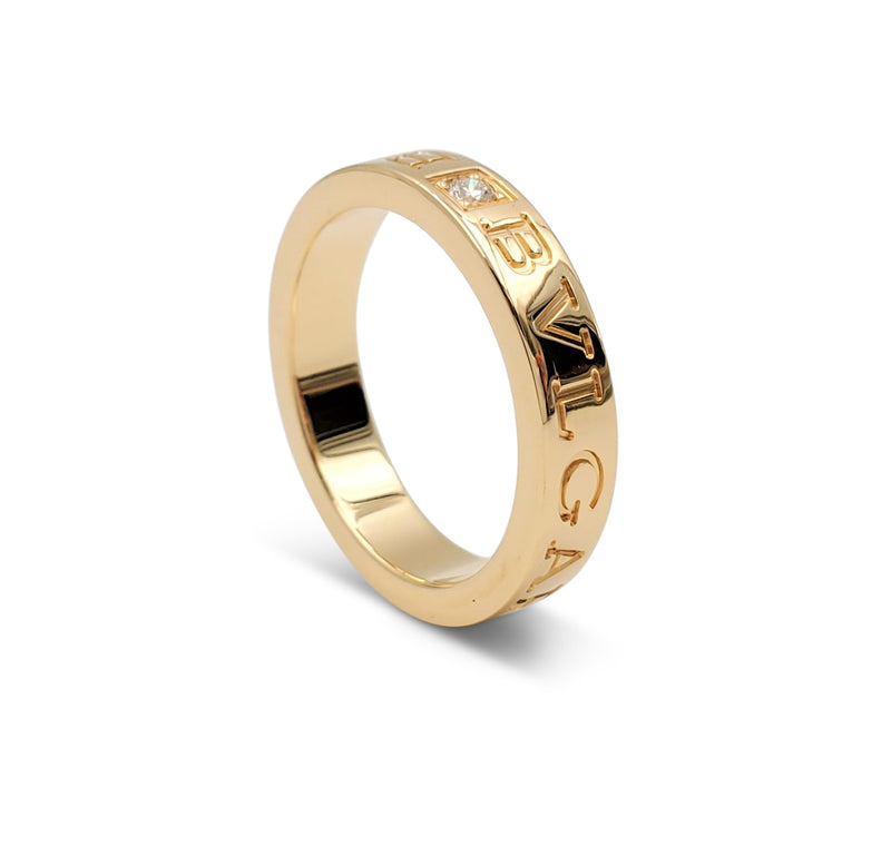 Bvlgari Bvlgari 18 Karat Gold Diamond Ring
