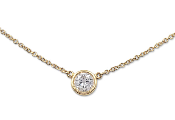 Elsa Peretti for Tiffany & Co. Diamonds by the Yard Pendant Necklace