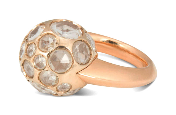 Pomellato Harem Gold and Rock Crystal Ring