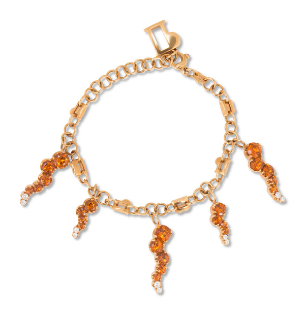 Pasquale Bruni Sun Ray Cirtine and Diamond Bracelet