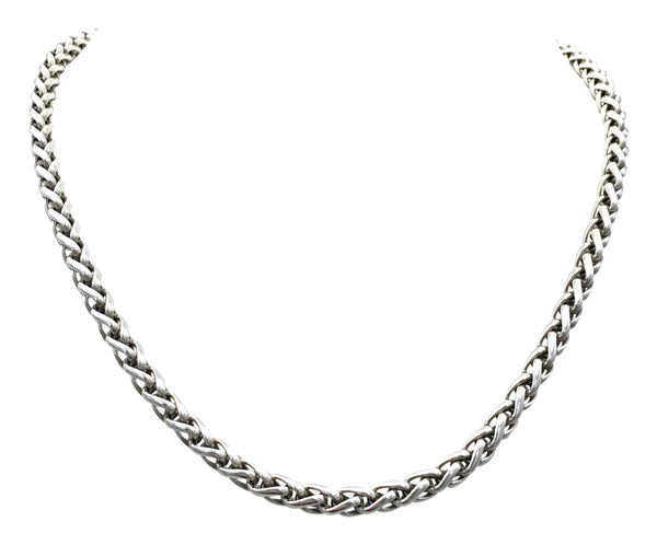 David Yurman Sterling Silver Wheat Chain