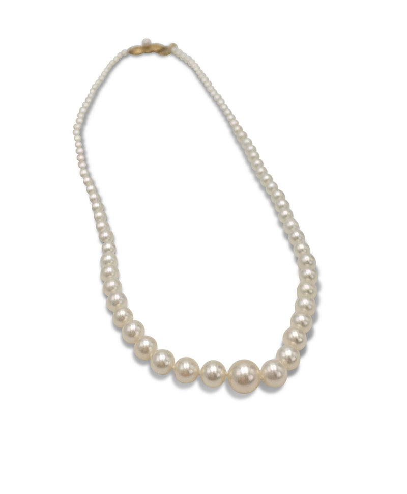 Mikimoto Graduated Pearl Necklace