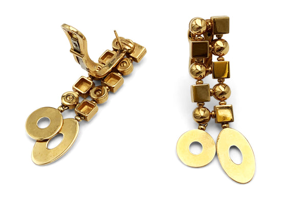 Bulgari Lucea Yellow Gold Earrings