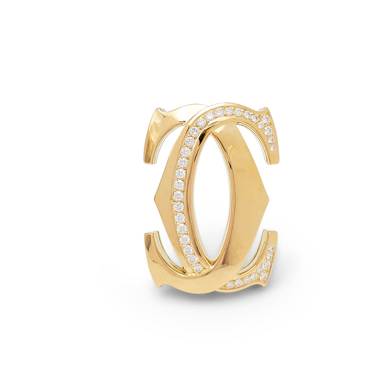 Cartier 'Penelope' Double-C Yellow Gold Diamond Suite