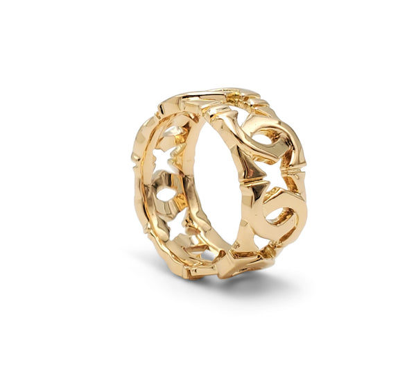 Cartier Penelope Double-C Yellow Gold Ring
