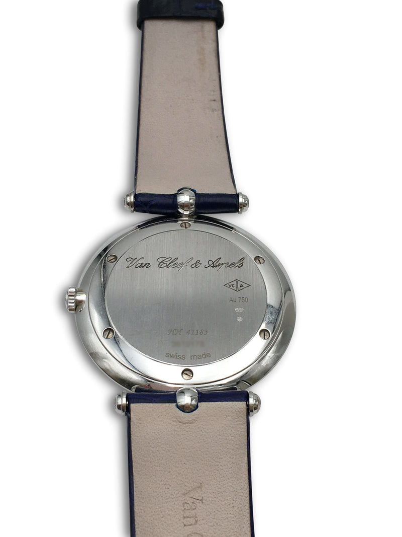 Van Cleef & Arpels Pierre Arpels White Gold and Diamond Watch