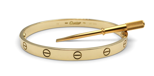 Cartier Love Yellow Gold Bracelet