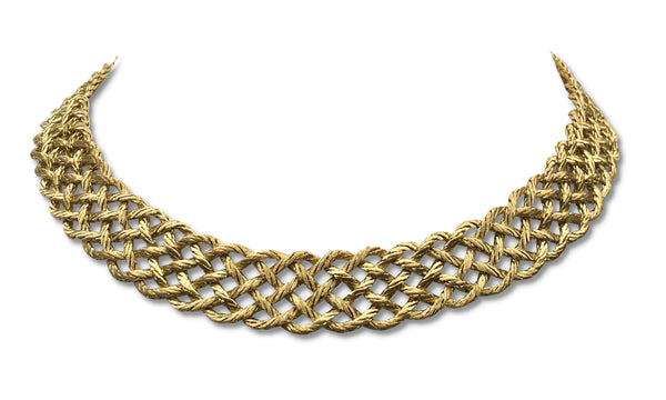 Buccellati Crepe de Chine Gold Necklace