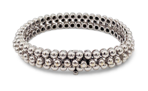 Boucheron Grains de Raisin White Gold Bracelet