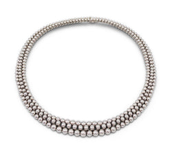 Boucheron Grains de Raisin White Gold Necklace