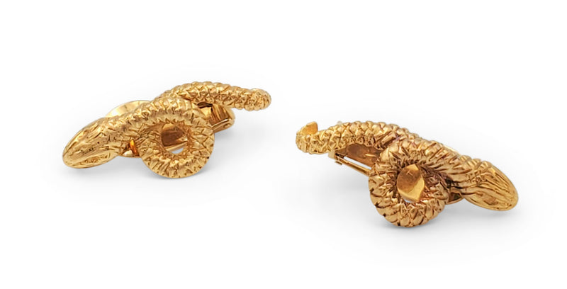 Lalaounis Yellow Gold Earclips
