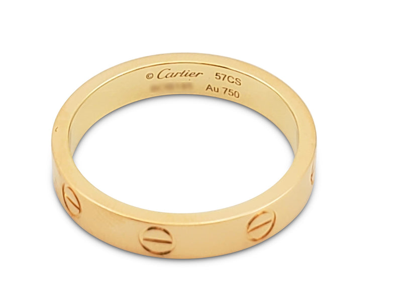 Cartier Love Yellow Gold Wedding Band