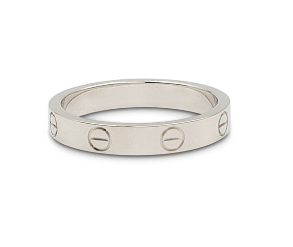 Cartier Love White Gold Wedding Band