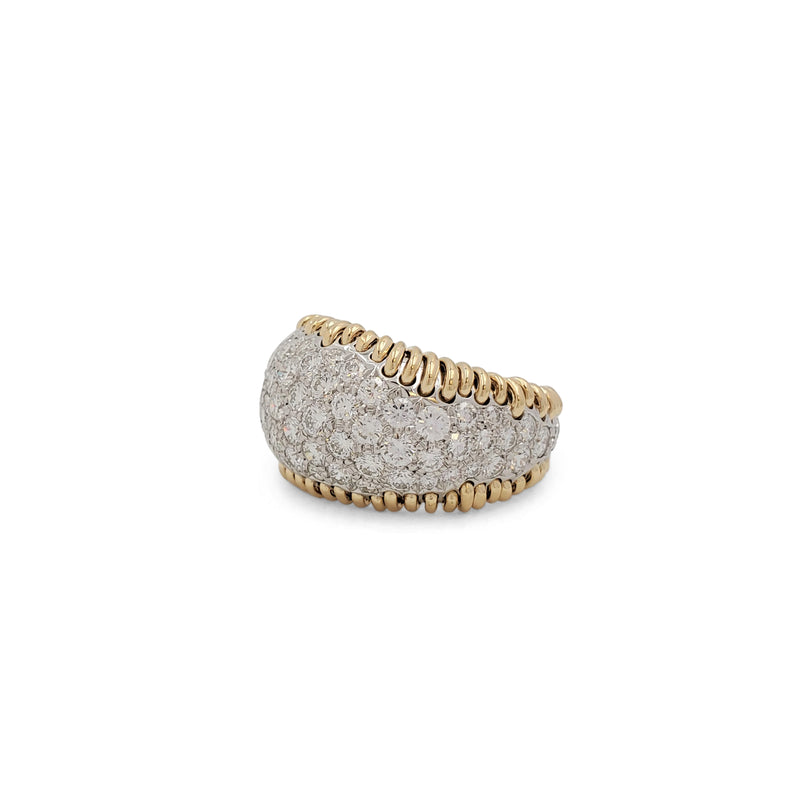 Jean Schlumberger for Tiffany & Co. 'Diamond Stitches' Ring