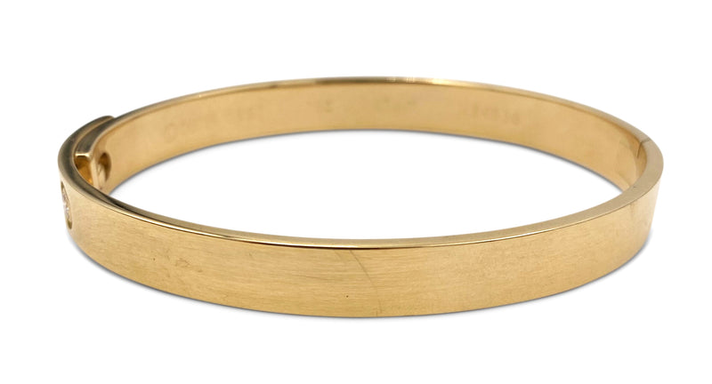 Cartier Gold Diamond Anniversary Bracelet