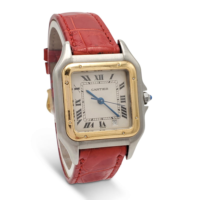 Cartier Panthère Stainless Steel and Yellow Gold Ladies Watch