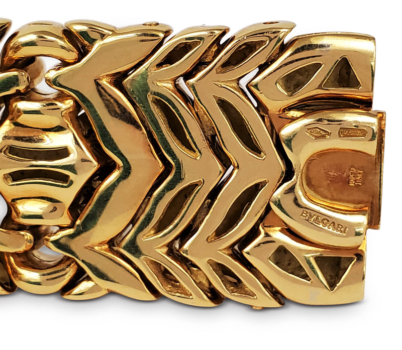 Bulgari Trika Yellow Gold Bracelet