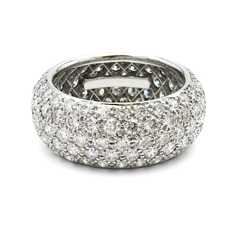 Tiffany & Co. Etoile Platinum Diamond Band