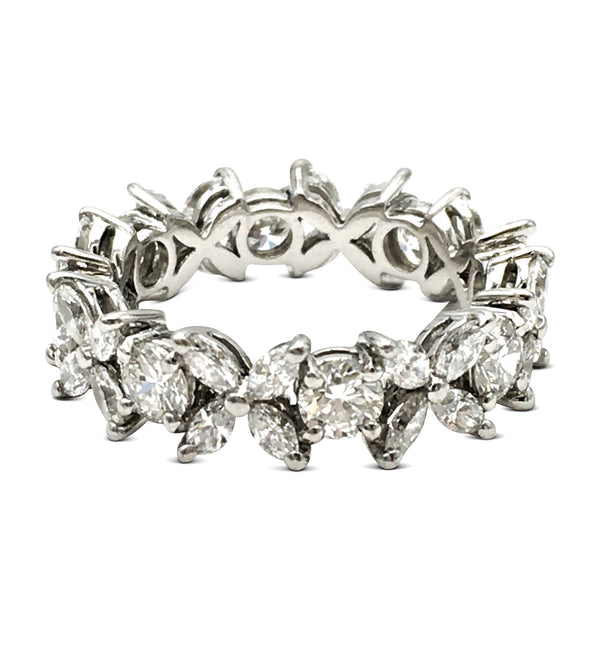 Tiffany & Co. Victoria Platinum Diamond Band