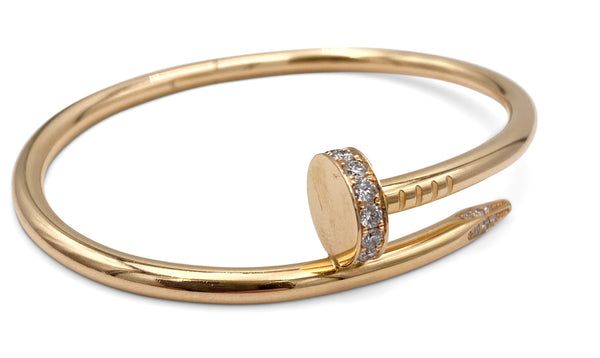 Cartier Juste un Clou Rose Gold And Diamond Bracelet