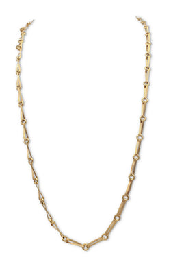 Yanes 18 Karat Yellow Gold and Diamond Necklace