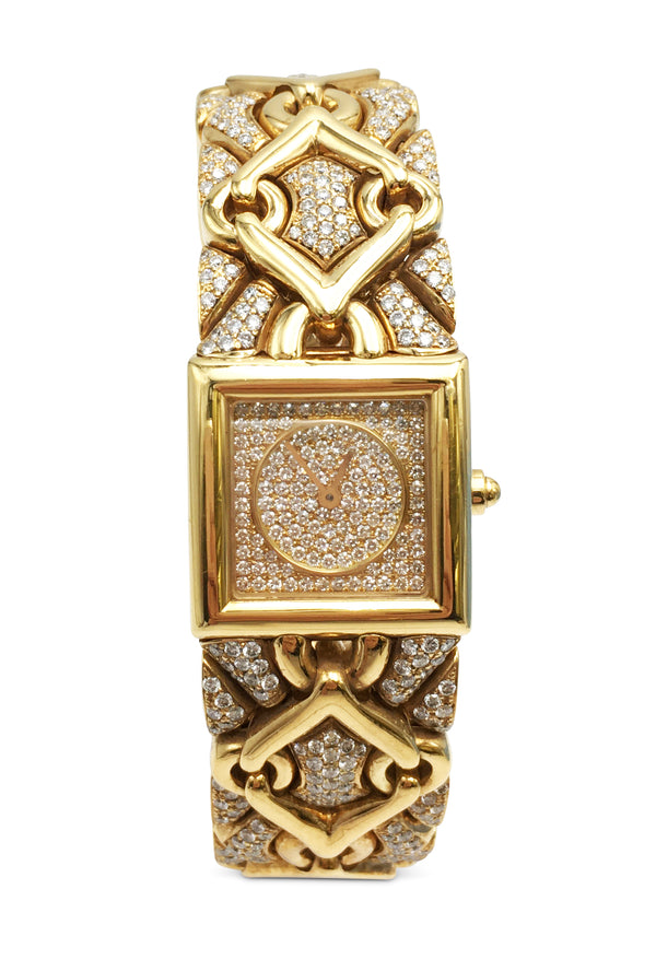 Bvlgari Trika Gold and Diamond Ladies Watch