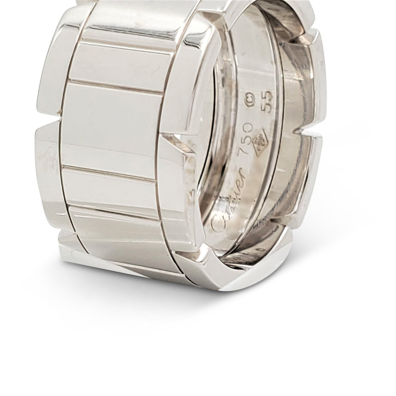 Cartier Tank Française White Gold Ring