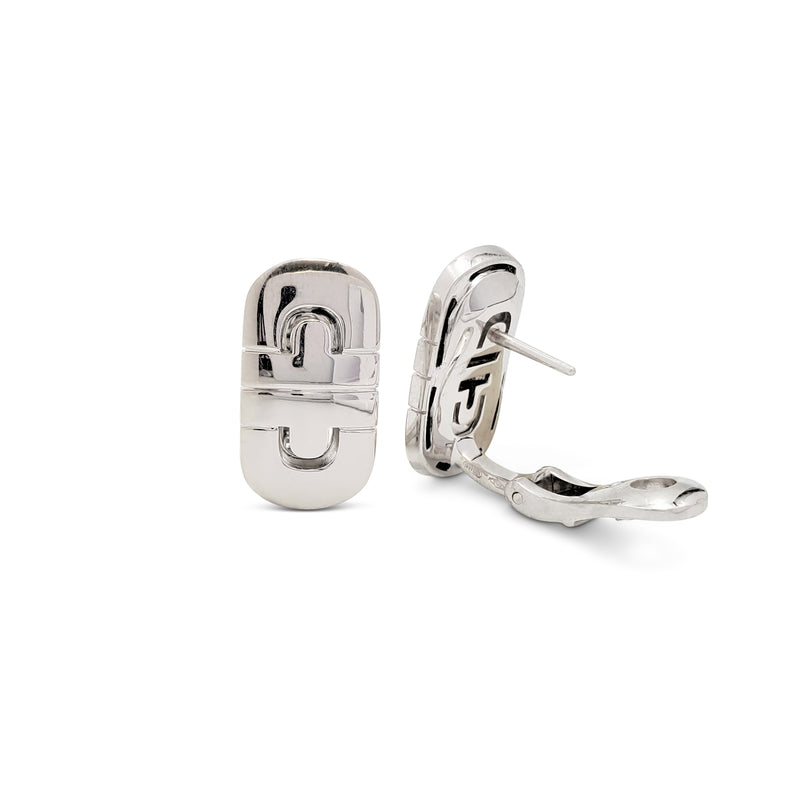 Bulgari Parentesi White Gold Earrings