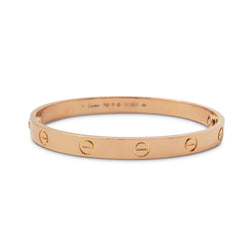 Cartier Love Rose Gold Bracelet