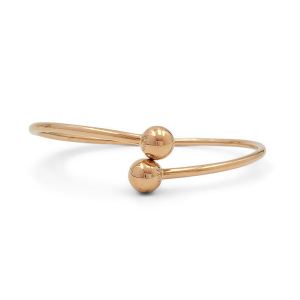 Tiffany & Co. HardWear Ball Bypass Rose Gold Bracelet