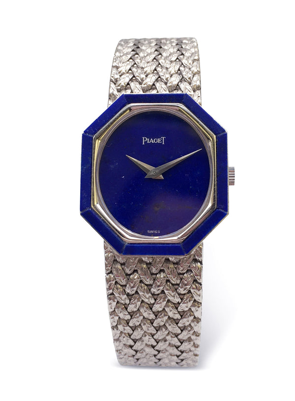 Piaget White Gold Lapis Ladies Watch