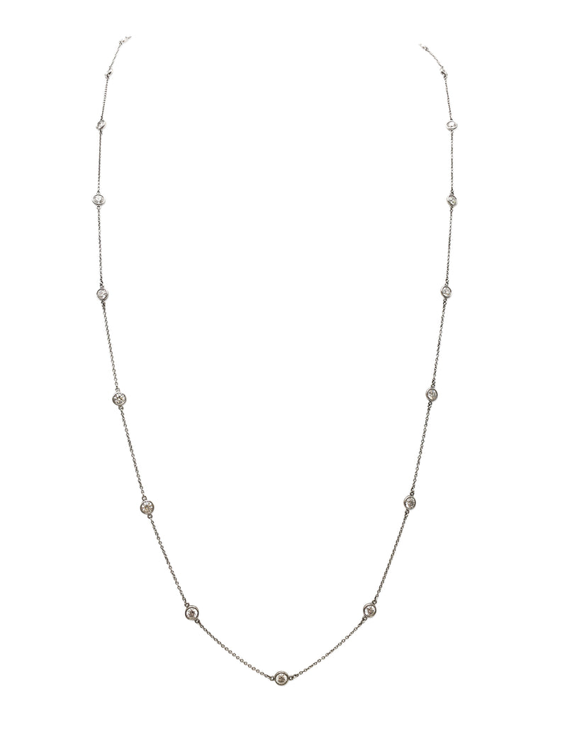 Elsa Peretti for Tiffany & Co. Diamonds by The Yard Necklace