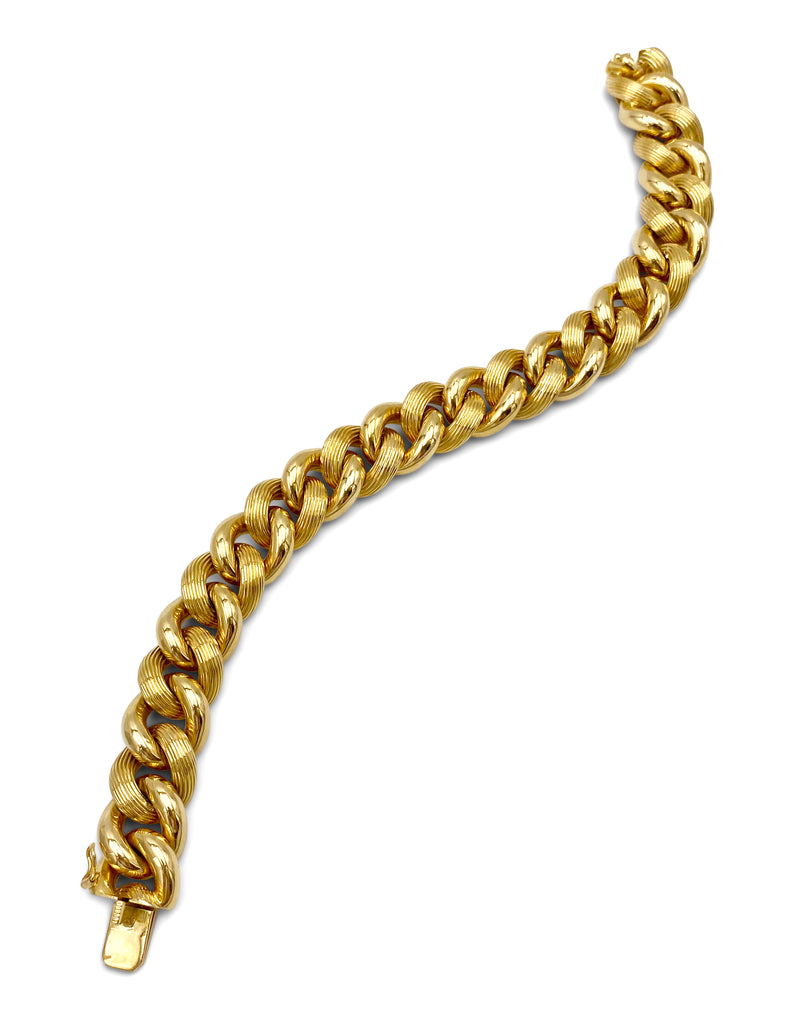 Vintage Tiffany & Co. Gold Link Bracelet