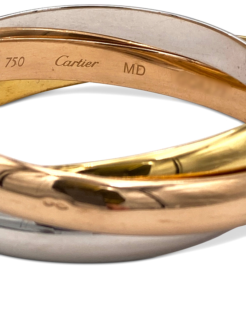 Cartier Trinity Tri-Color Gold Bracelet