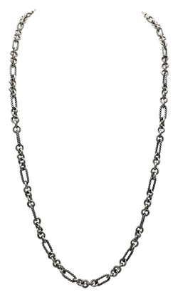 David Yurman Sterling Silver Petite Figaro Necklace
