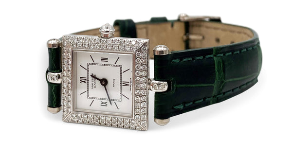 Van Cleef & Arpels Classique Gold and Diamond Ladies Watch