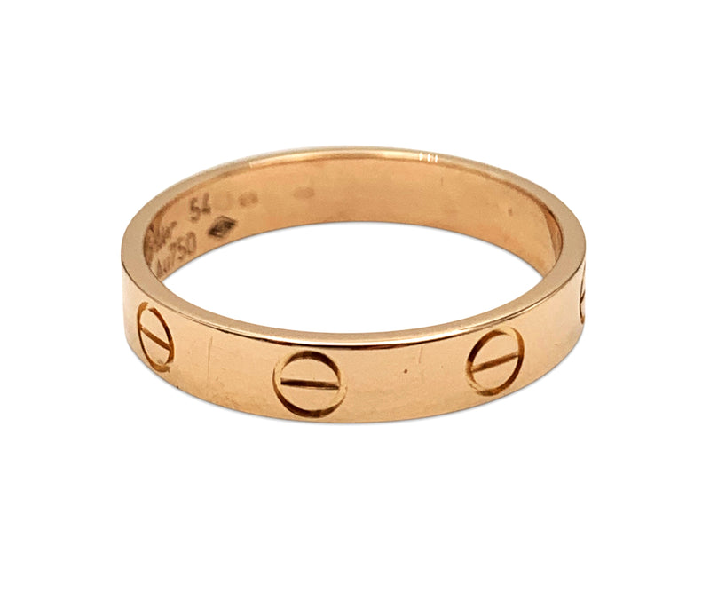 Cartier Love Rose Gold Ring