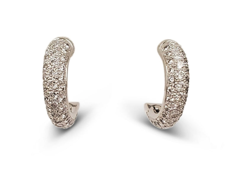 Cartier Etincelle Gold and Diamond Earrings