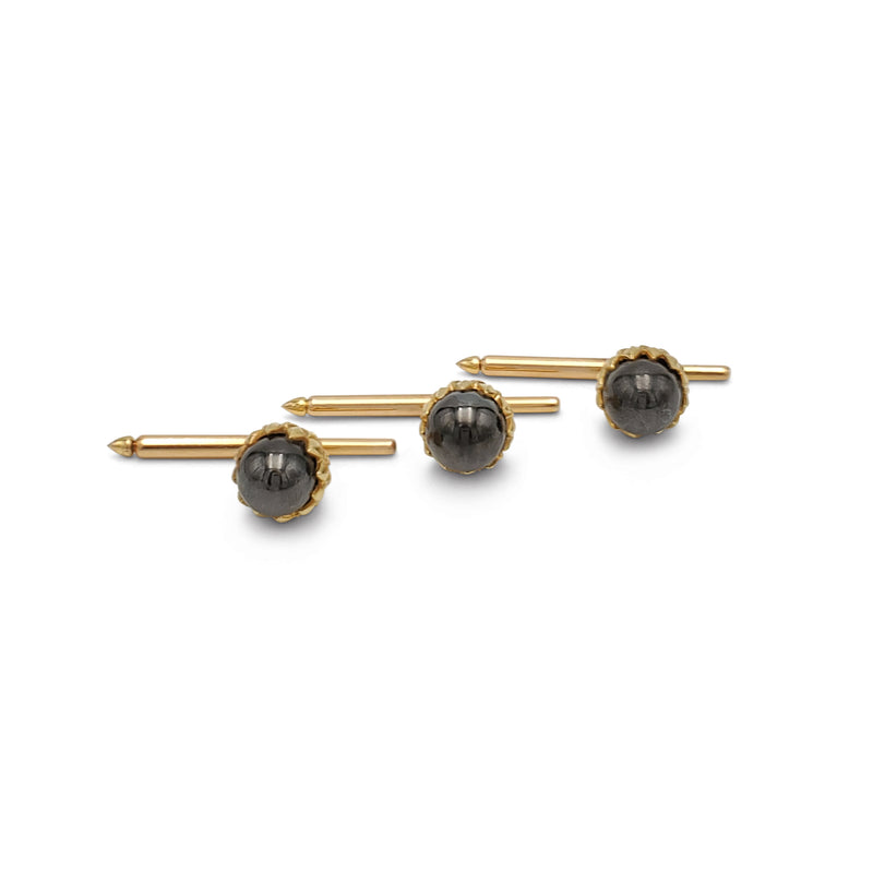 Jean Schlumberger for Tiffany & Co. Gold and Hematite Acorn Dress Set